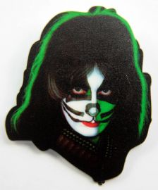 Kiss - 'Peter' Plastic Badge
